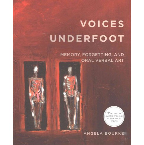 Voices Underfoot : Memory, Forgetting, and Oral Verbal Art (Paperback) (Angela Bourke) - image 1 of 1