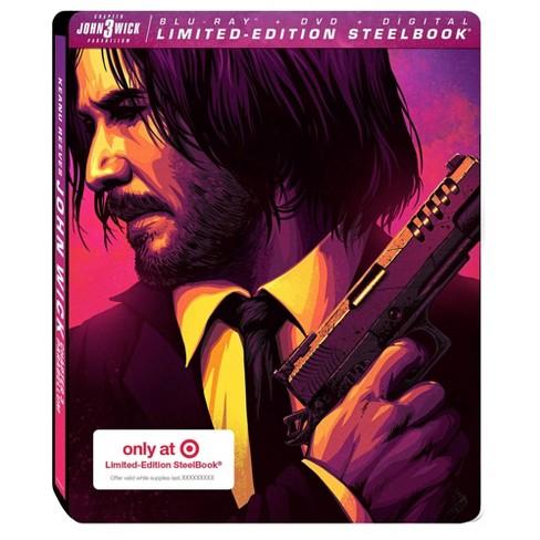 John Wick: Chapter 3 - Parabellum (Target Exclusive) (Blu-Ray + DVD + Digital) - image 1 of 3