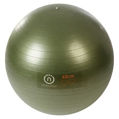 Lifeline PRO Burst 65cm Resistant Exercise Ball - Green