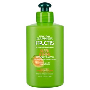 Garnier Fructis Sleek & Shine Intensely Smooth Leave-In Conditioning Cream - 10.2 fl oz