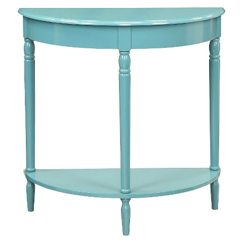 French Country Entryway Table Blue - Johar Furniture - image 1 of 3
