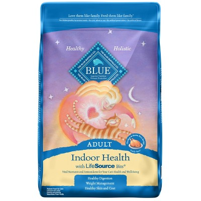 Blue Buffalo Indoor Health Adult Chicken & Brown Rice - Dry Cat Food - 10lb bag