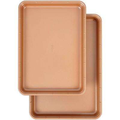 Wilton 2pc Ceramic Coated Non-Stick Cookie Sheet Set