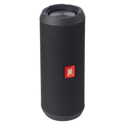 JBL Flip 4 Waterproof Smart Speaker with Google Assistant- Black