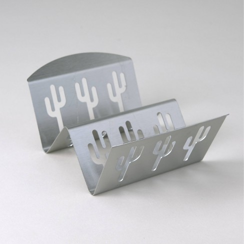 Stainless Steel Taco Grill Rack Silver - Nordicware - image 1 of 4