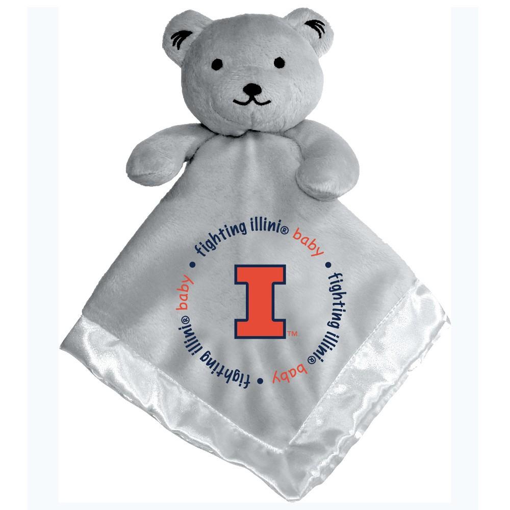 Illinois Fighting Illini Security Bear - Gray