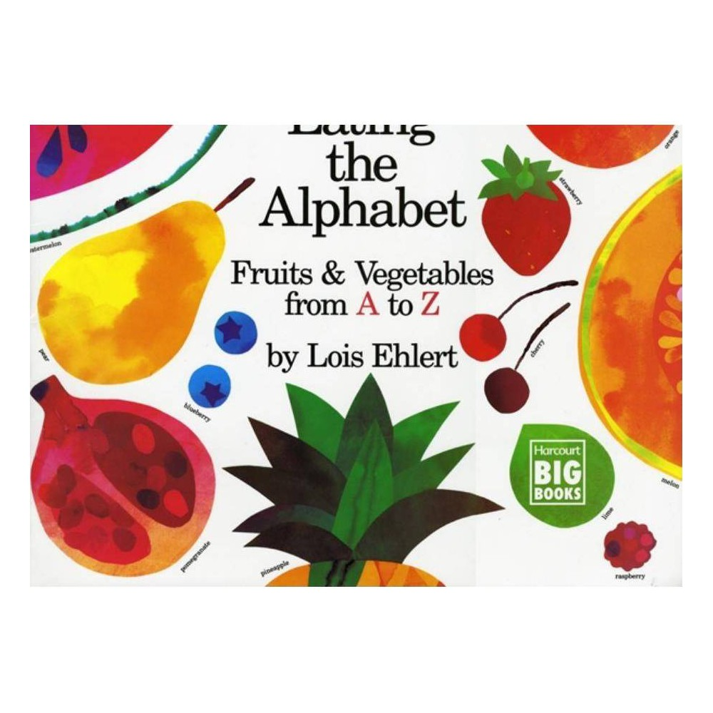 ISBN 9780152009021 product image for Eating the Alphabet - by Lois Ehlert (Paperback)   upcitemdb.com