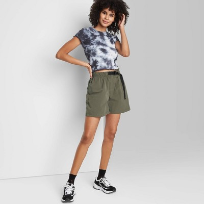 Women's High-Rise Belted Sporty Short - Wild Fable™