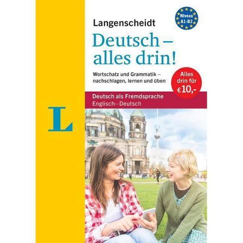 Langenscheidt Deutsch - Alles Drin! - All-In-1 German Grammar and Vocabulary (Bilingual English-German) - image 1 of 1