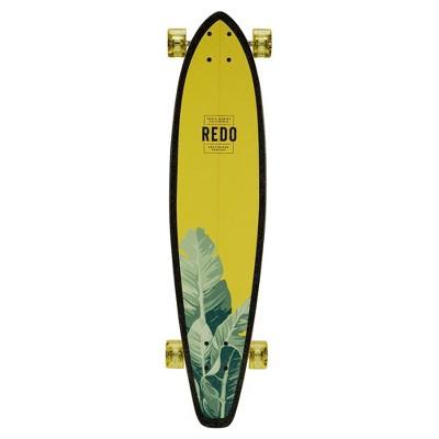 "ReDo Skateboard 34.5"" San Diego Bright Palms Longboard"