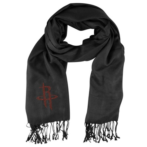 NBA Houston Rockets Black Pashi Fan Scarf - image 1 of 1