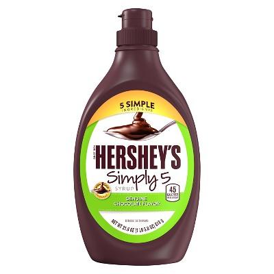 Honeys & Syrups: Hershey's Simply 5