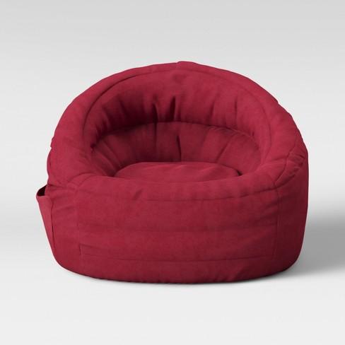 target bean bag chairs Cocoon Bean Bag Chair With Pocket   Pillowfort™ : Target target bean bag chairs