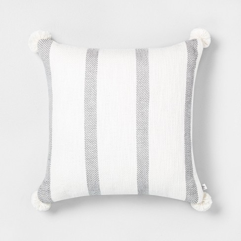 18 X 18 Bold Stripes Throw Pillow Hearth Hand With Magnolia Target