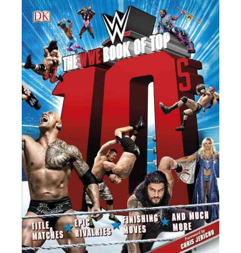 WWE Book of Top 10s (Paperback) (Dean Miller) - image 1 of 1