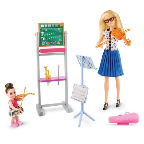 Barbie Music Teacher Doll & Playset - image 1 of 4