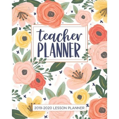 image regarding Teacher Plan Books referred to as Lesson Planner for Lecturers - (2019-2020 Lesson Method Textbooks for Instructors) by way of Really Uncomplicated Planners