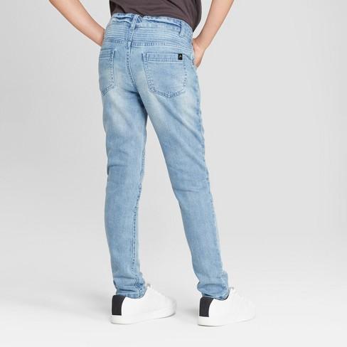 4356404c7ad0 Boys' Moto Woven Jeans - Art Class™ Light Blue : Target