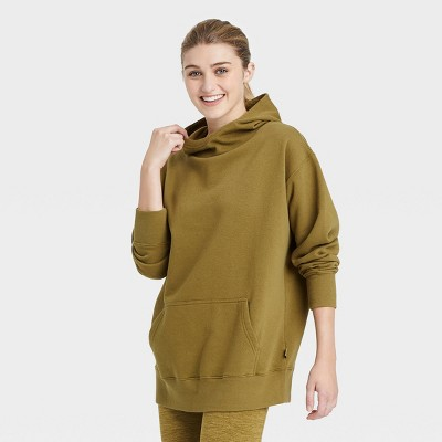 Women's Oversized Hooded Sweatshirt - JoyLab™