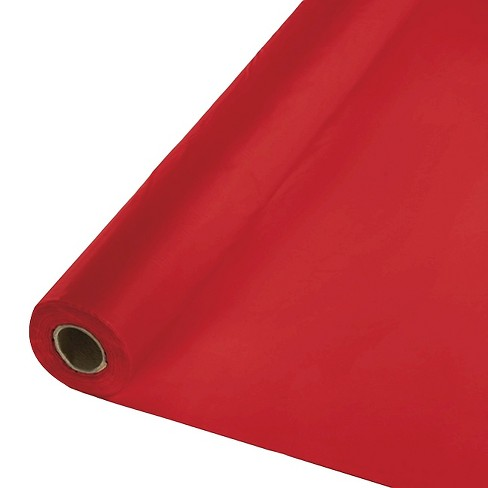 Classic Red Table Cover Roll - image 1 of 3