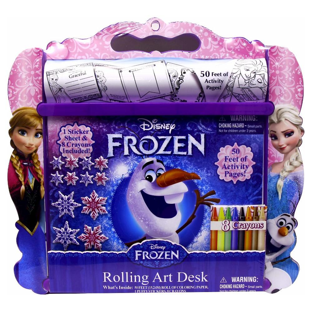 Frozen Rolling Art Desk, Coloring Books
