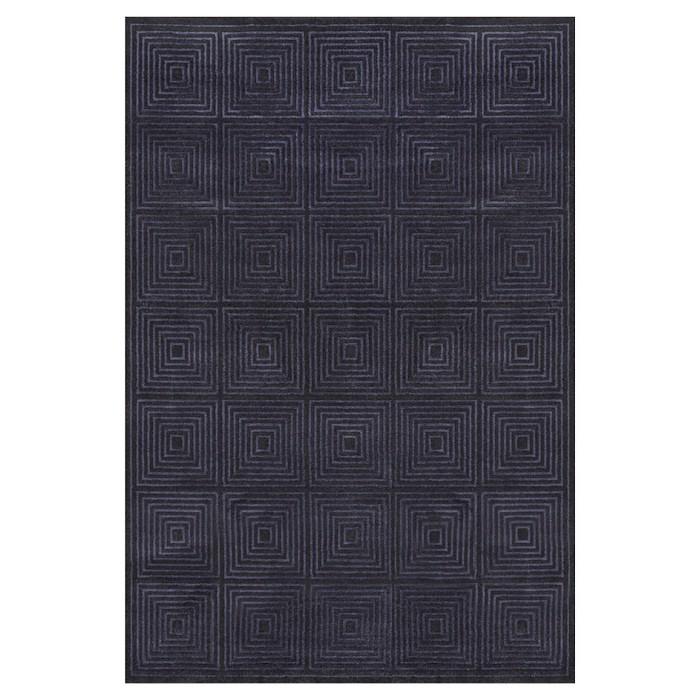 Azeri Black/Charcoal Rug - Room Envy - image 1 of 3