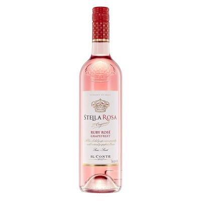 Stella Rosa Ruby Rose Grapefruit Wine - 750ml Bottle
