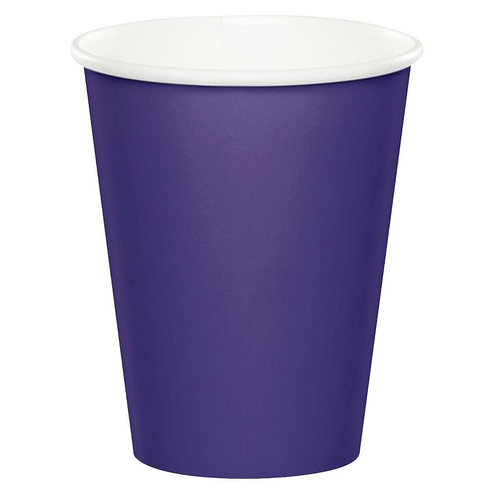 24ct Purple Disposable Cups Compare