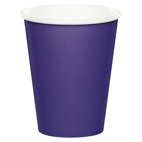 24ct Purple Disposable Cups - image 1 of 1