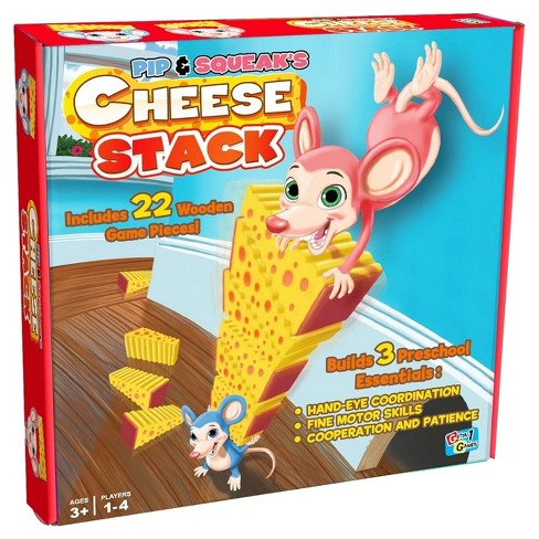 Pip & Sqeak's Cheese Stack Game - image 1 of 4