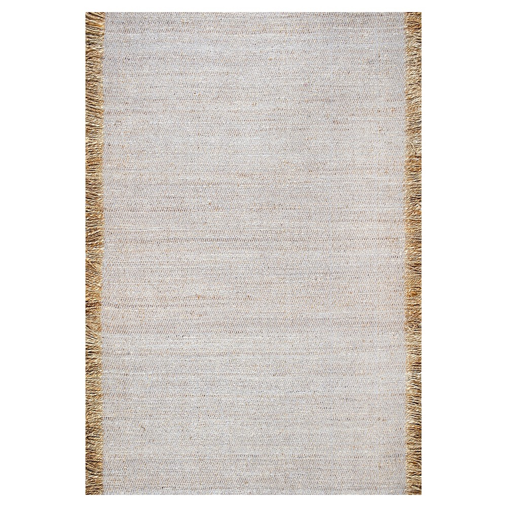 Image of 3'x5' Solid Area Rug Sterling Gray - nuLOOM, Grey