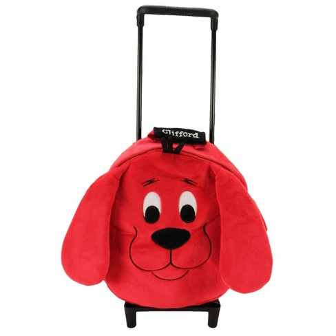 Animal Adventure Clifford Trolley Backpack - image 1 of 4