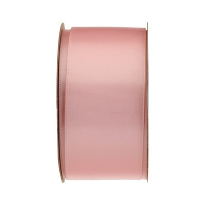 "9'x1.5"" Satin Sheen Gift Wrap Ribbon Light Pink - Spritz™"