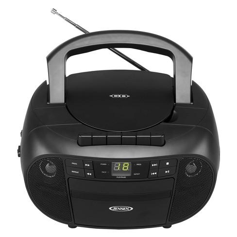 JENSEN Portable Stereo CD Cassette Recorder with AM/FM Radio (CD-550)