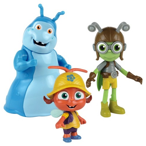 Beat Bugs™ Fab Figures 3-Pack - Buzz, Crick and Walter - image 1 of 4