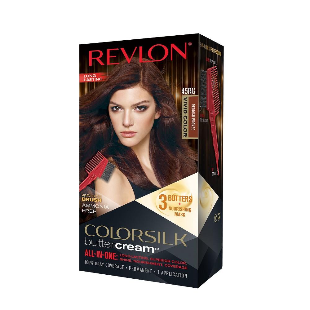 Image of Revlon ColorSilk Buttercream Permanent Superior Hair Color - 45RG Vivid Reddish Bronze - 1 kit