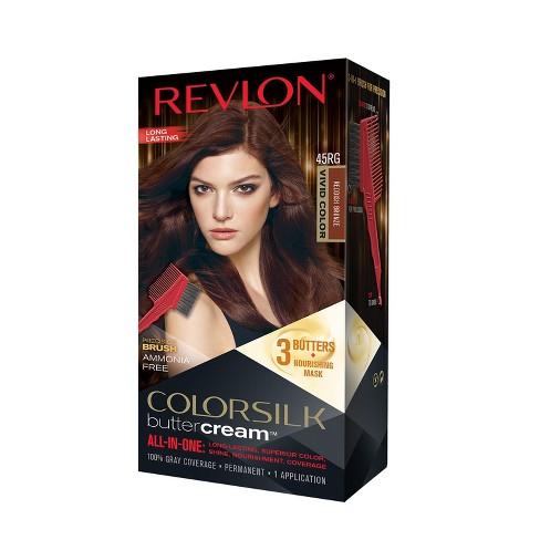 Revlon Colorsilk Buttercream Permanent Superior Hair Color 45rg