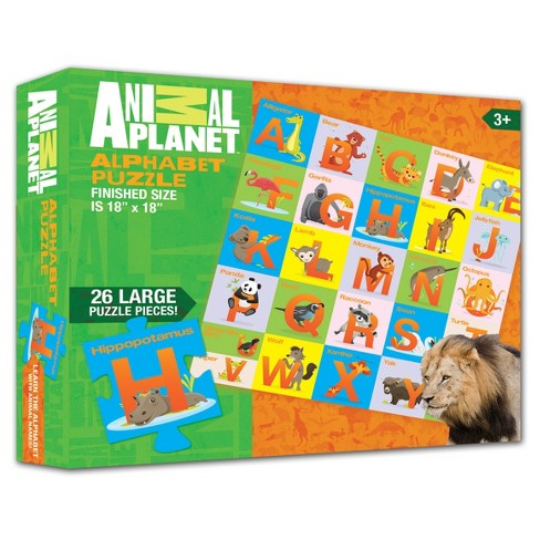 Smart Play® Animal Planet Animal Alphabet Puzzle 26pc - image 1 of 2