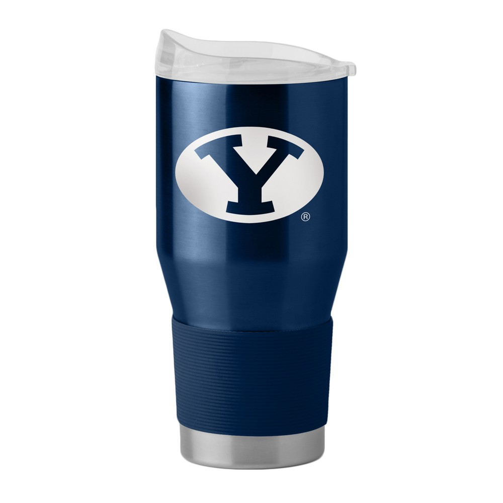 NCAA Byu Cougars Boelter 24oz Silicone Sleeve Stainless Ultra Tumbler