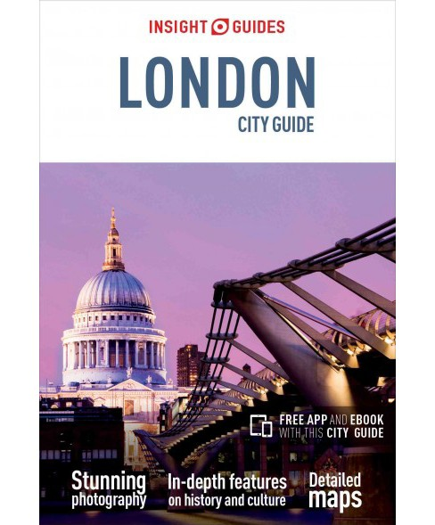 Insight Guides London City Guide (Paperback) (Emma Levine) - image 1 of 1