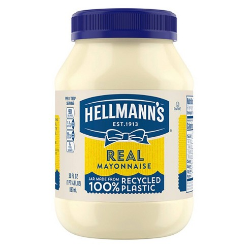 Hellmann's Mayonnaise Real - 30oz - image 1 of 4