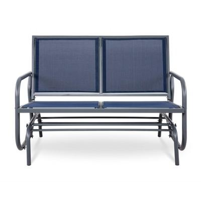 Patio Loveseat & Rocking Chair - Gray - NUU GARDEN
