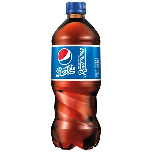 Pepsi Throwback made with Real Sugar Soda - 20 fl oz Bottle - image 1 of 3