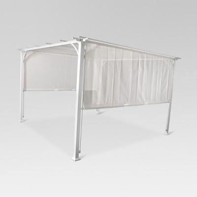 Adjustable Shade Pergola 10' x 10' - White - Threshold™