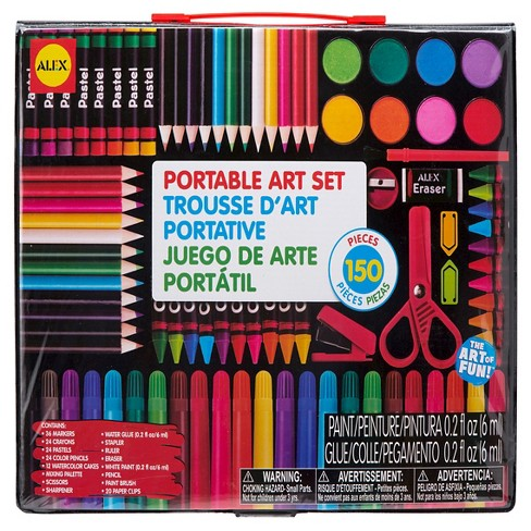 ALEX Toys® Artist Studio Portable Art Set with Carrying Case - image 1 of 3