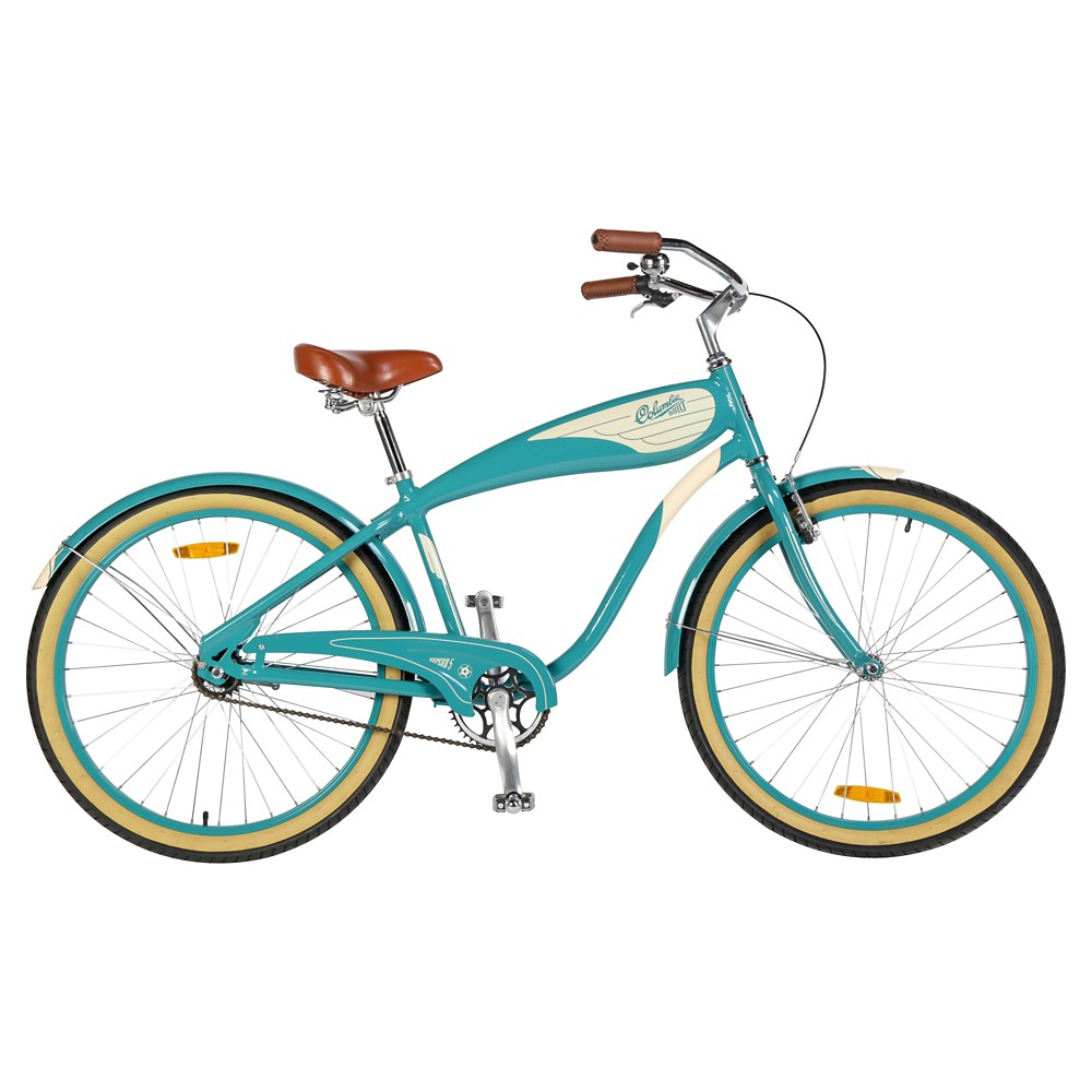 Columbia Men's Superb Vintage 26 Cruiser Bike - Baby Blue