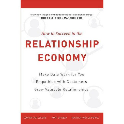 How to Succeed in the Relationship Economy - (Hardcover) - image 1 of 1