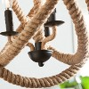 Camulus 3 - Light Rope Orb Pendant Lamp - Natural Rope - Aiden Lane - image 2 of 4