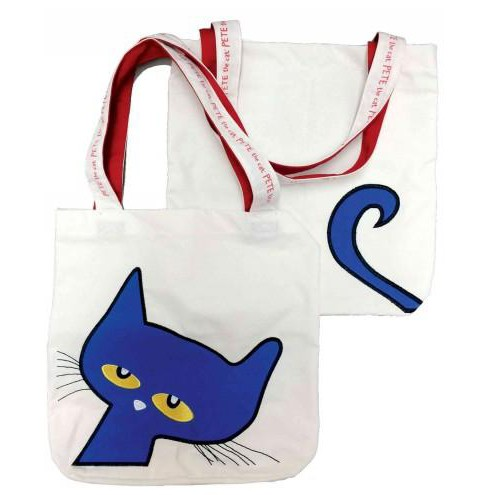 Pete the Cat Canvas Tote, 15 Inch X 17 Inch - Plus Handle (Accessory) (James Dean) - image 1 of 1