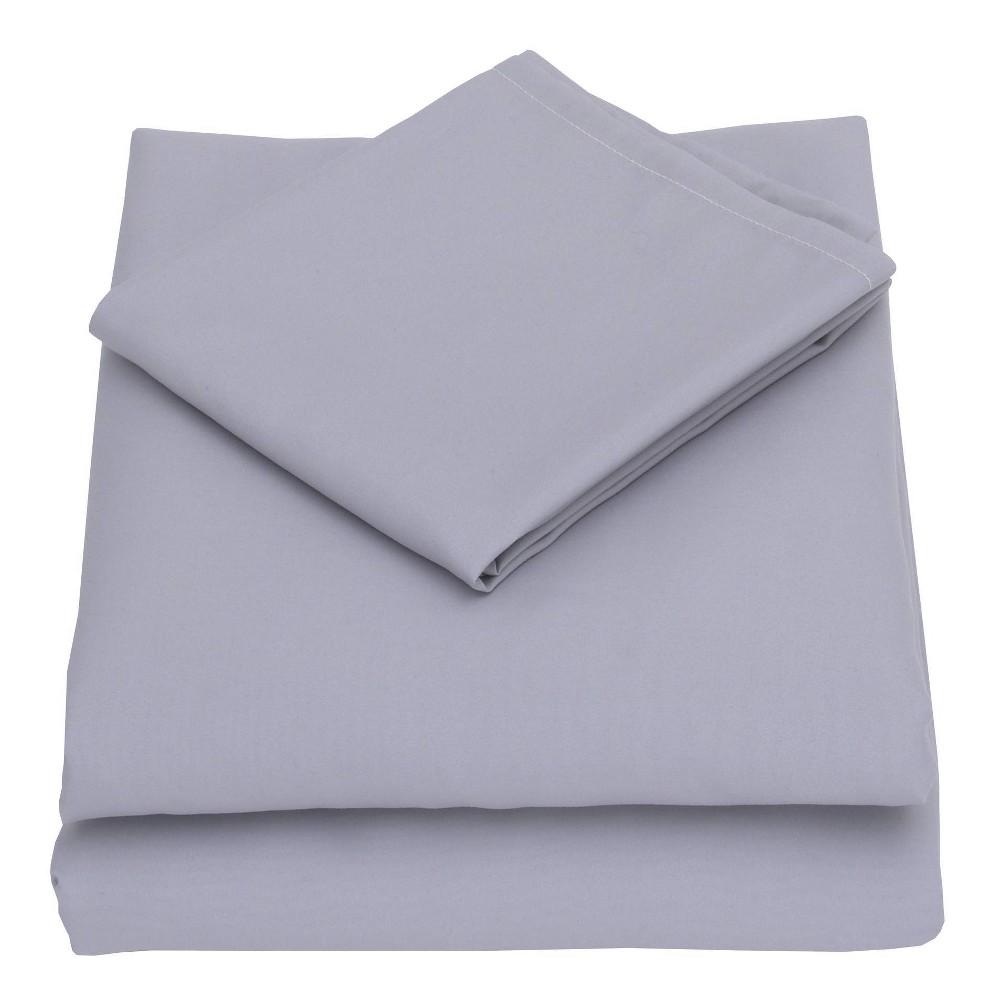 Image of Nojo 3pc Toddler Sheet Set Gray